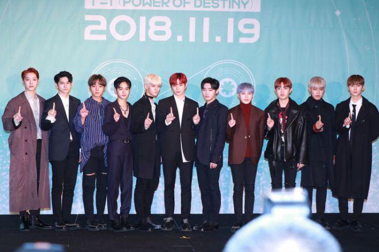 WannaOne春风垄断韩国各大音乐网站实时榜冠军